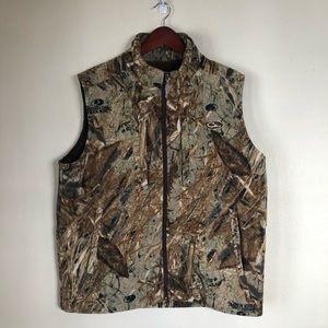 Drake Waterfowl Systems Camo Fleece Hunting Vest